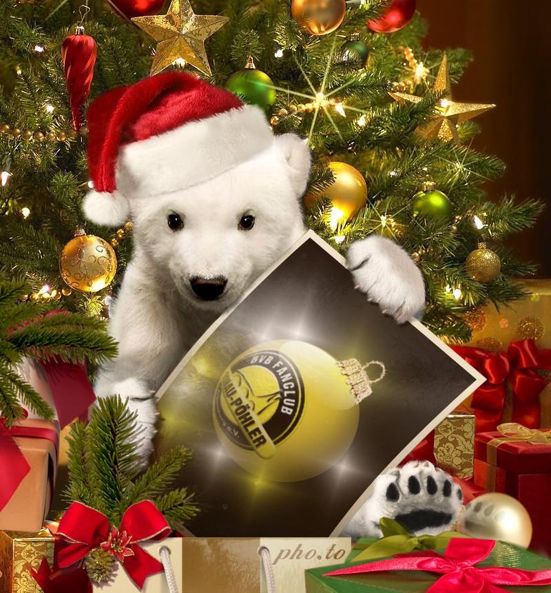 Bvb Frohe Weihnachten.Frohe Weihnachten
